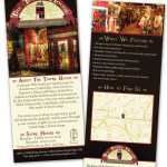 The Towne House Rack Card Proof large