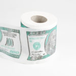 toilet paper with usd